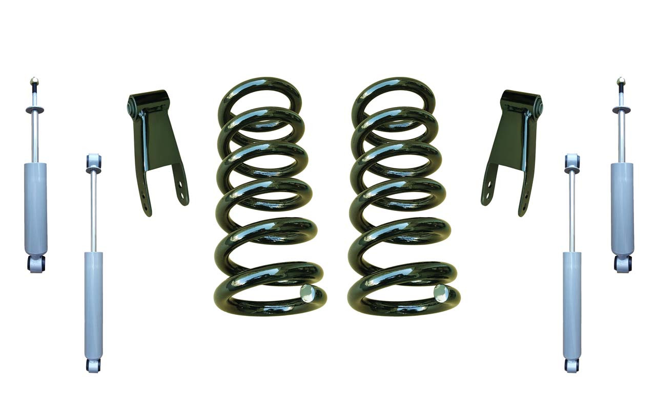 2in Coil Spring Drop Kit and Shocks for Chevy Silverado GMC Sierra 1500