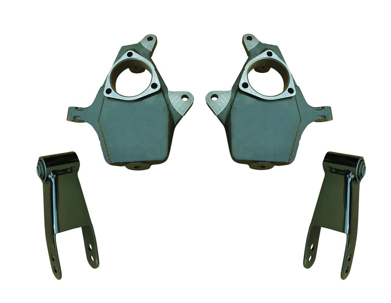 2in Drop Spindle Lowering Kit for Silverado Sierra 1500