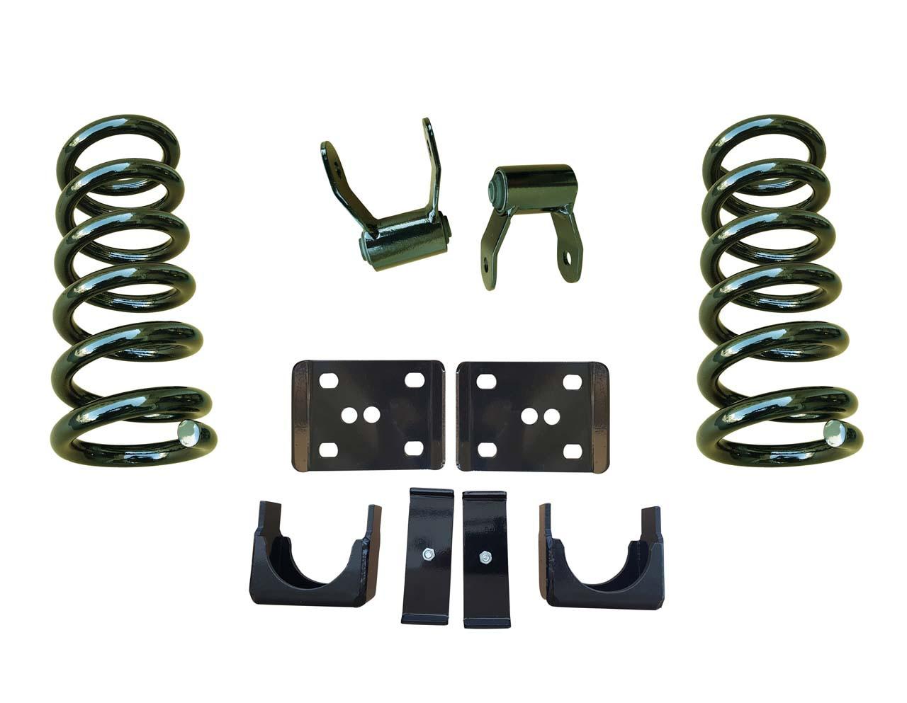 99-06 Chevrolet Silverado 3/5 Drop Kit Coil Springs