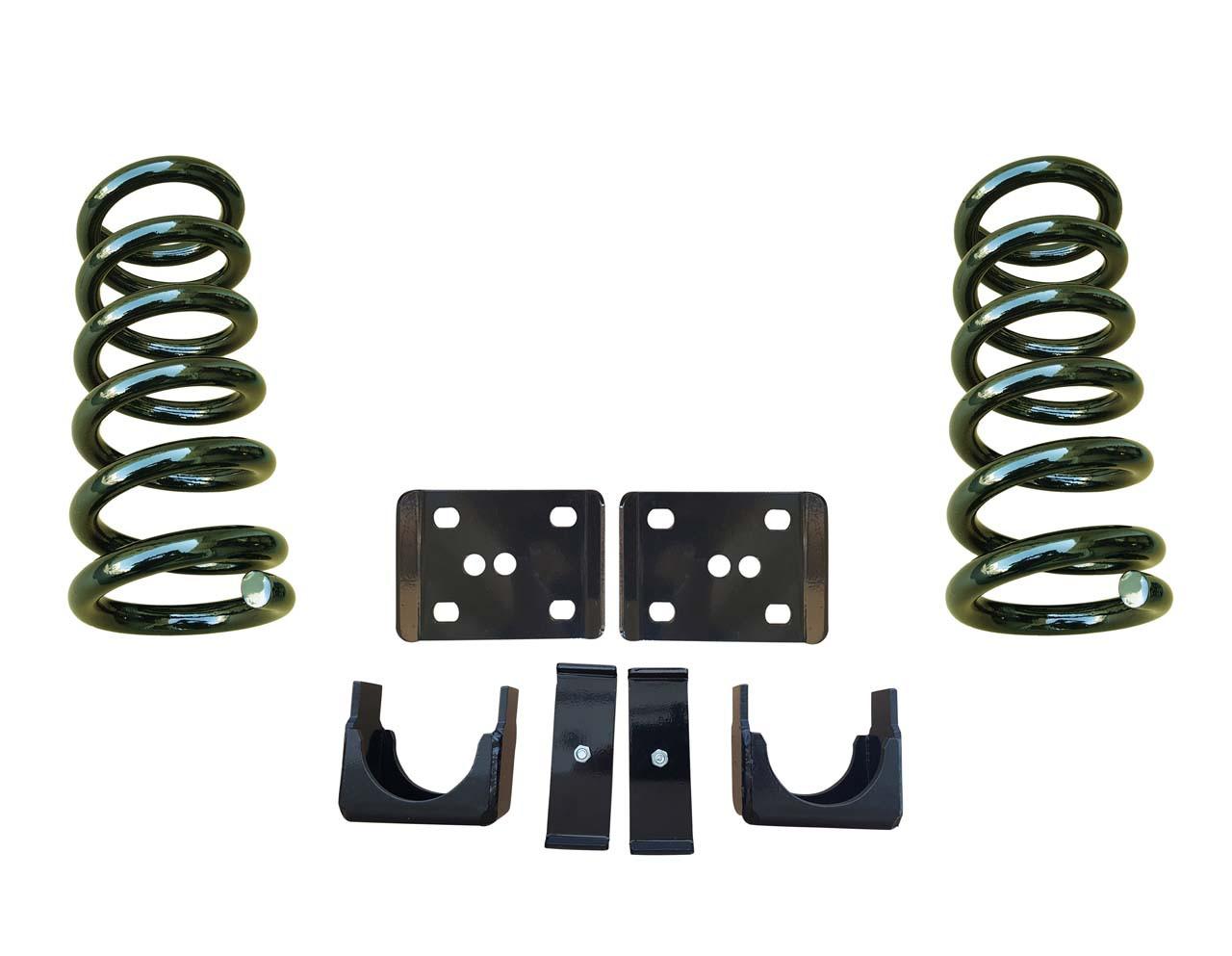 99-06 Chevrolet Silverado 3/6 Drop Kit Coil Springs