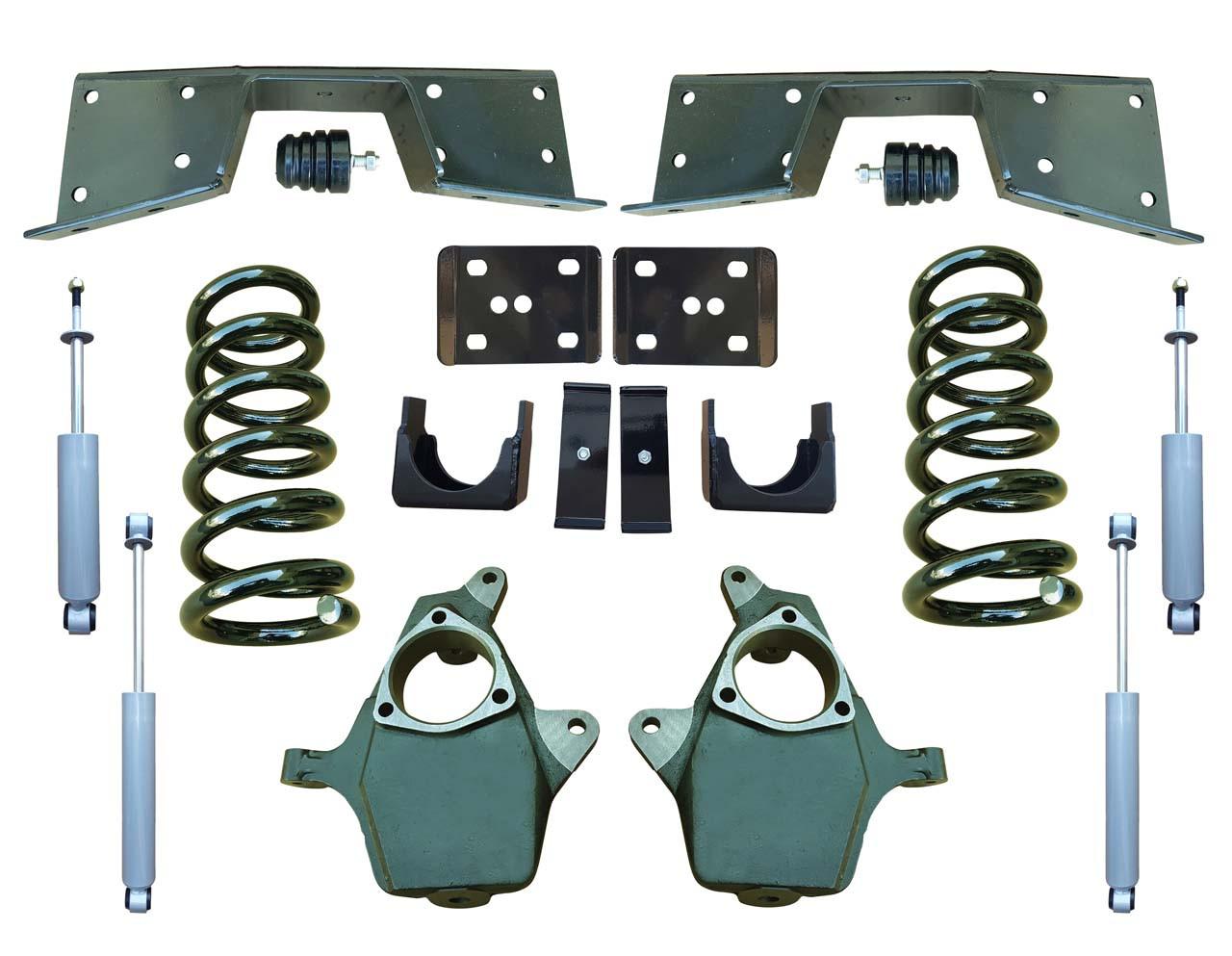 Complete 4/6 Lowering Kit for 99-00 Chevrolet Silverado