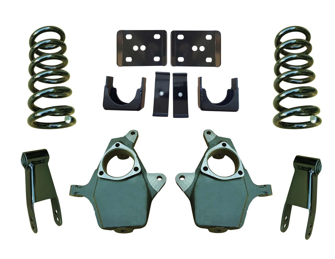 99-06 Chevrolet Silverado 5/7 Drop Kit Coil Springs