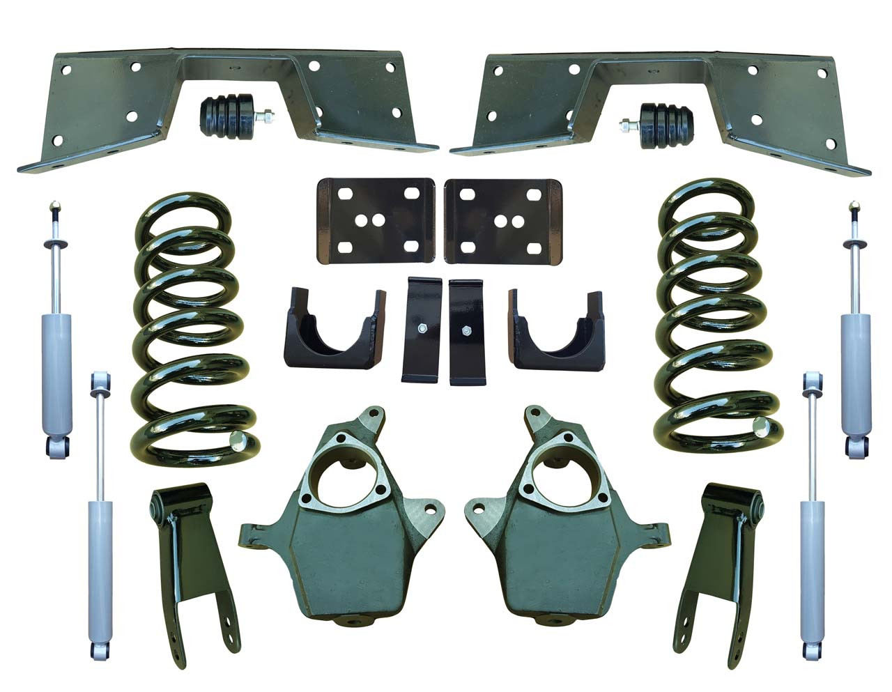 Complete 5/7 Lowering Kit for 01-06 GMC Sierra
