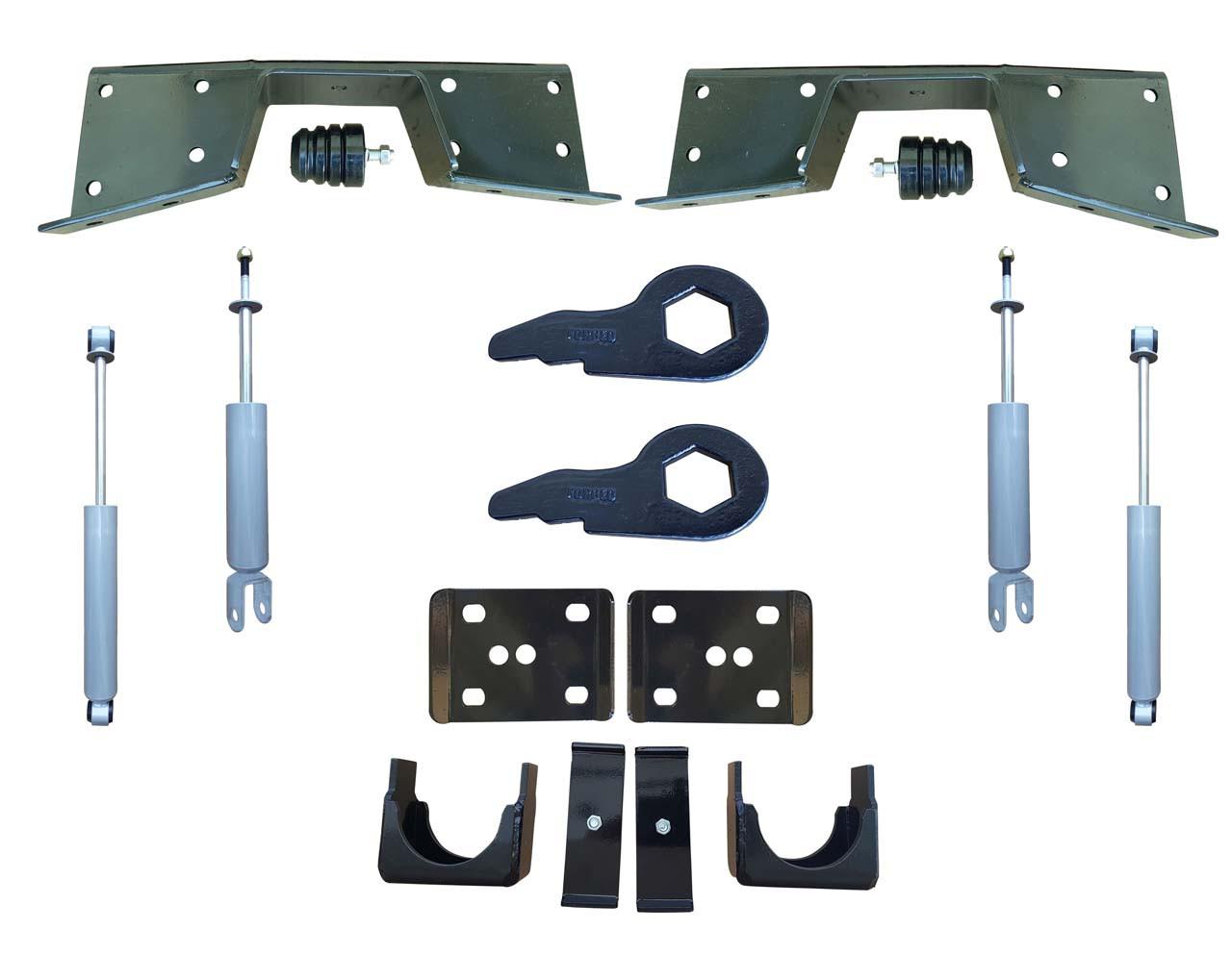 Complete 3/6 Lowering Kit for 99-00 Silverado / Sierra 4WD