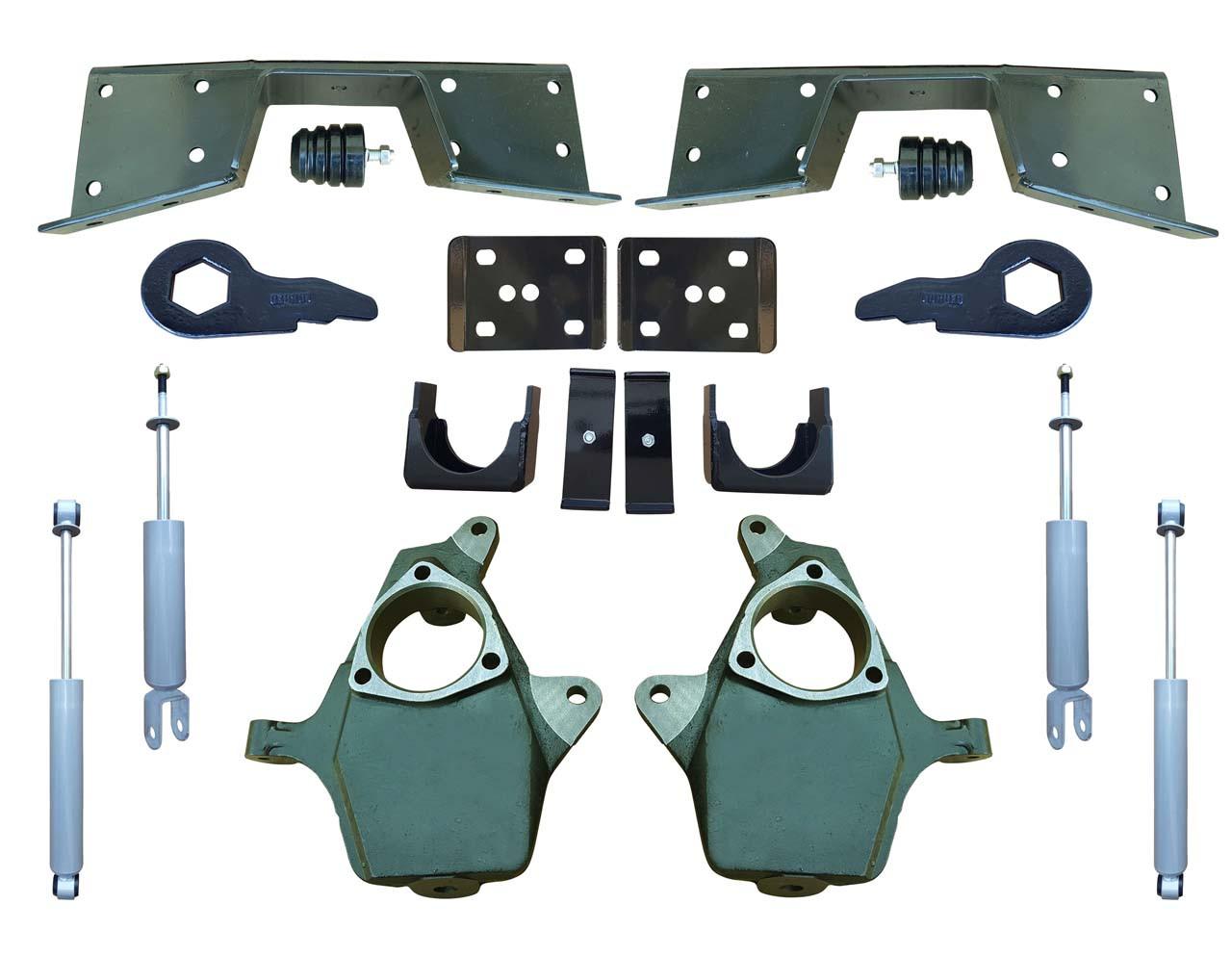 Complete 4/6 Lowering Kit for 99-00 Silverado / Sierra 4WD