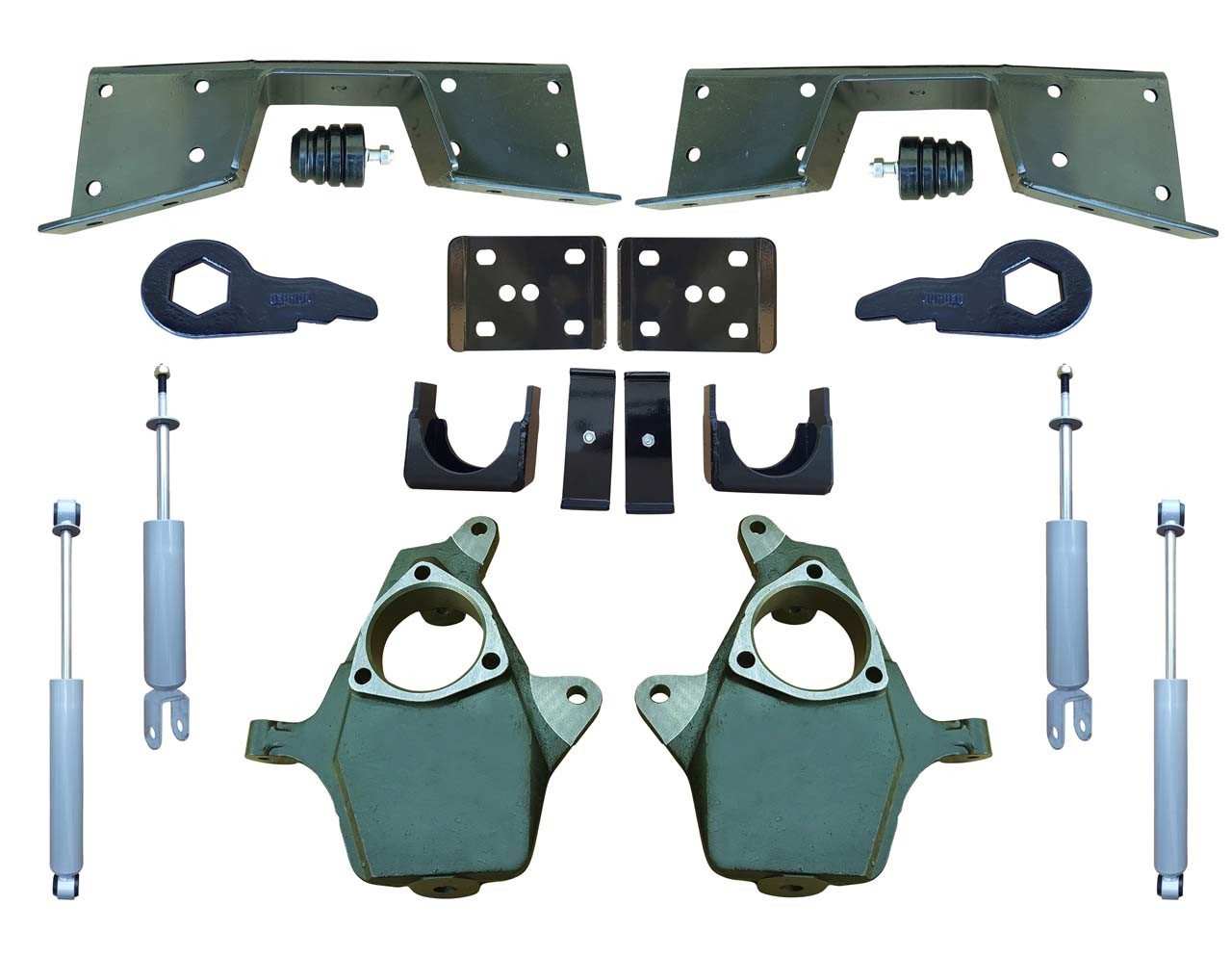 Complete 4/6 Lowering Kit for 01-06 Silverado / Sierra 4WD
