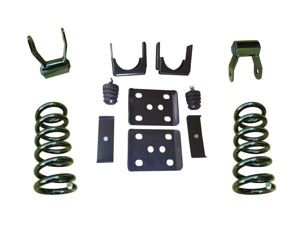 "07-13 Chevrolet Silverado 3""/6"" Drop Kit"
