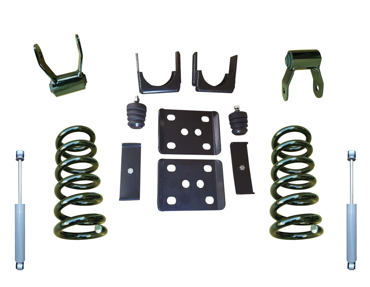 "07-13 Chevrolet Silverado 3""/6"" Drop Kit with Shocks"