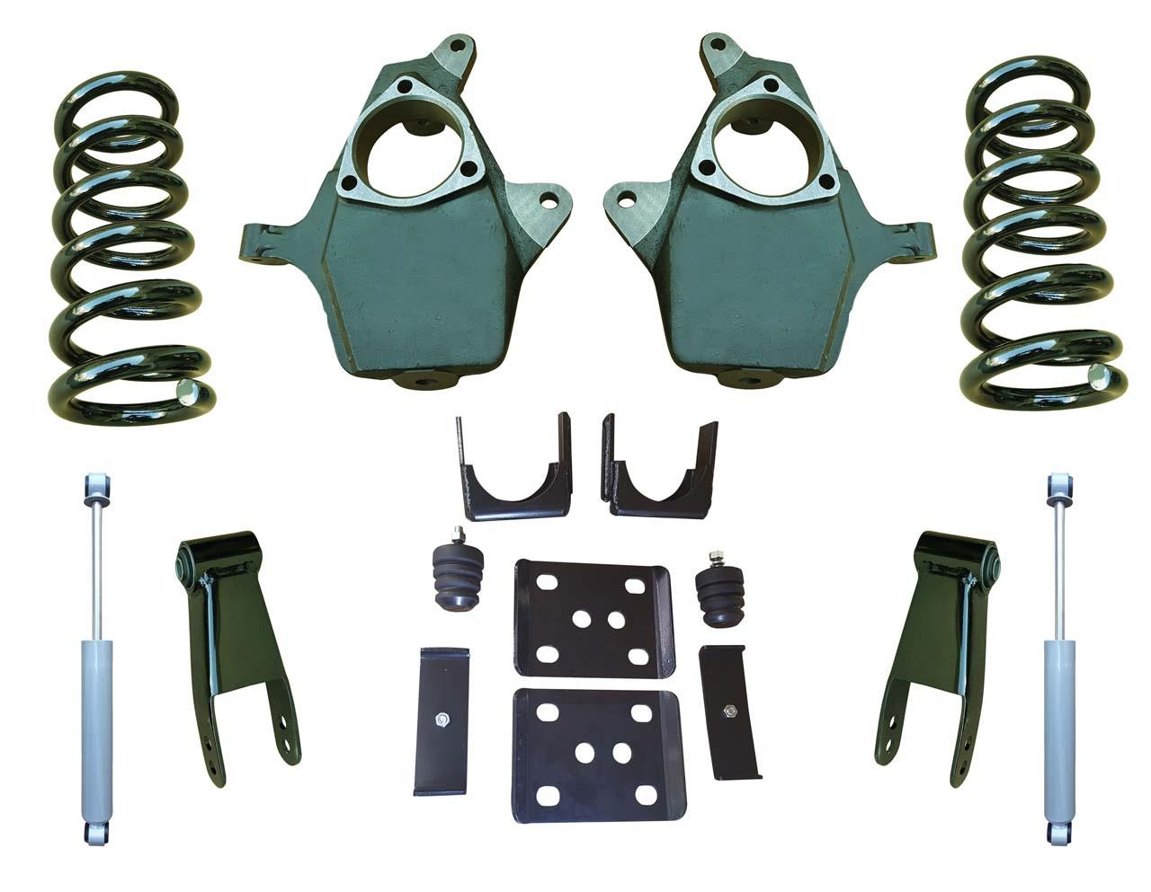 "07-13 GMC Sierra 4""/8-9"" Drop Kit with Shocks"