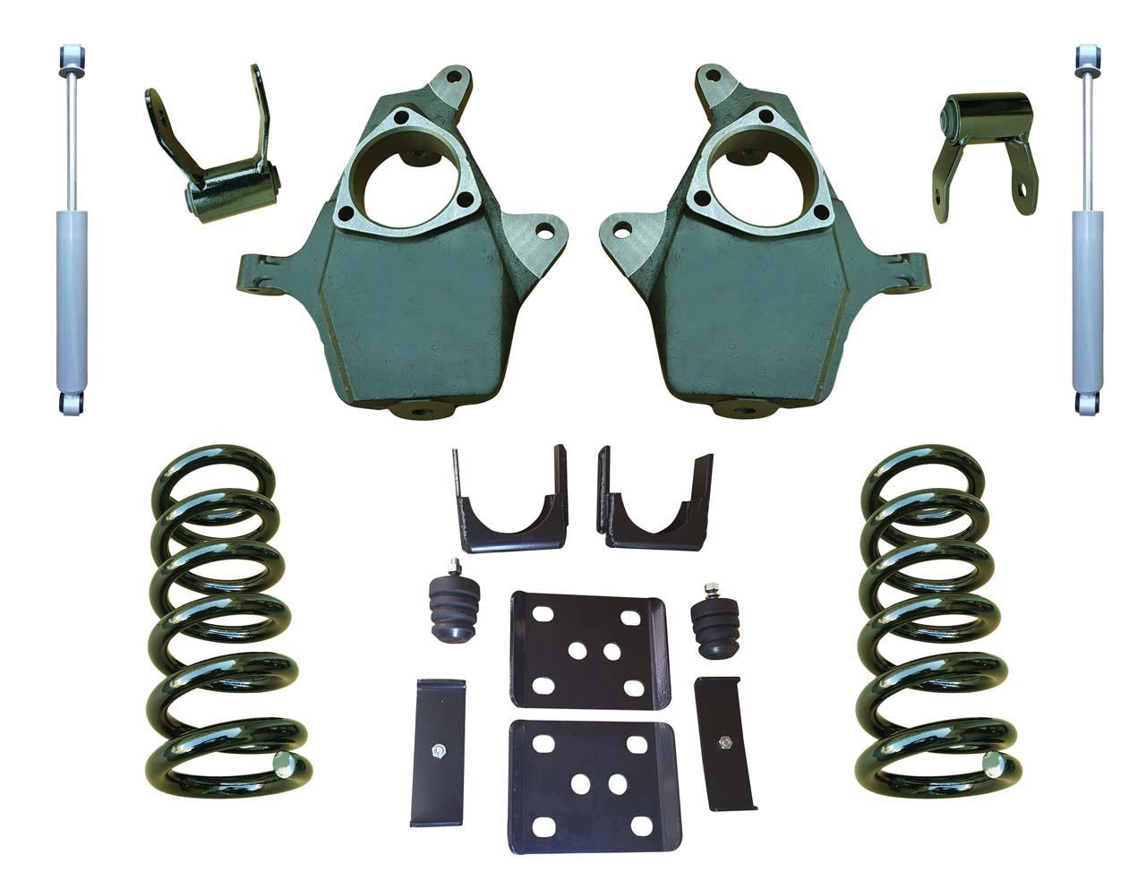 "07-13 Chevrolet Silverado 5""/6"" Drop Kit with Shocks"