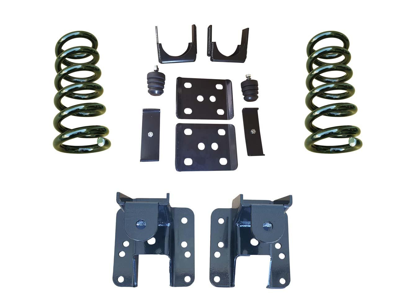 2014+ GMC Sierra 3/5 to 3/6 Adjustable Drop Kit