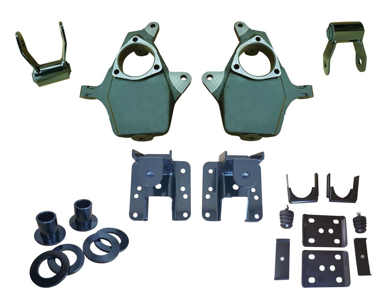 "2014+ Silverado / Sierra Fully Adjustable 3""-4"" /  5""-6""  Drop Kit"