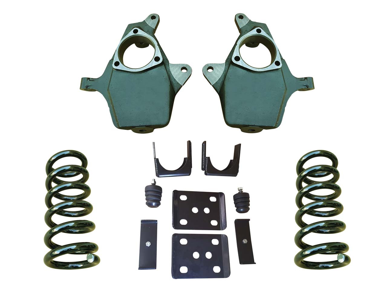 "2014+ Chevrolet Silverado 4""/7"" Drop Kit"