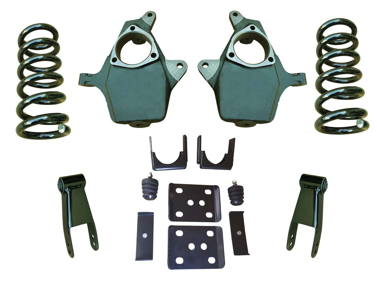 "2014+ Chevrolet Silverado 4""/8-9"" Drop Kit"
