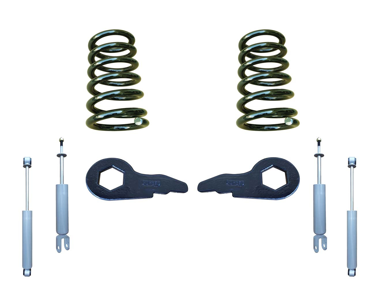 "00-06 Chevrolet / GMC SUV Models 2""/4"" Lowering Kit with Shocks"