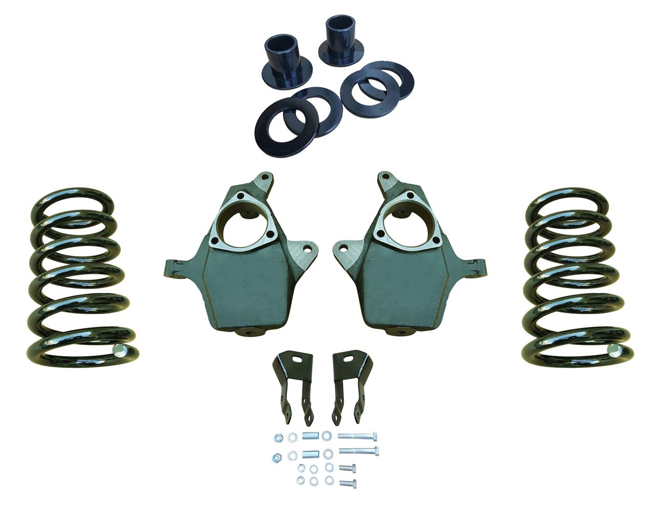 "07-14 Chevrolet / GMC SUV Models 3-4""/4"" Drop Kit with Extenders"
