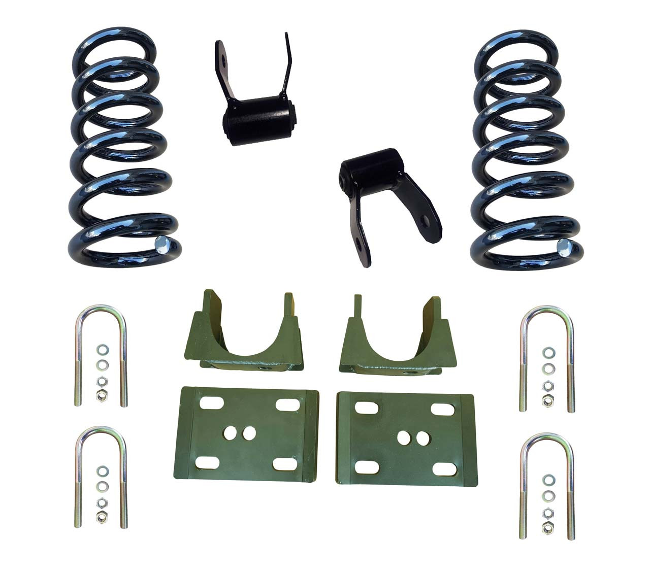 "94-01 Dodge Ram 1500 (2WD V8 Extended Cab) 3"" / 5"" Drop Kit"