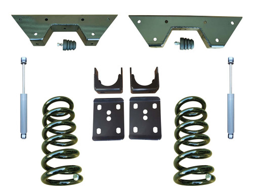 Complete 3/6 Coil Spring Drop Kit for Chevy C10 GMC C15 Trucks