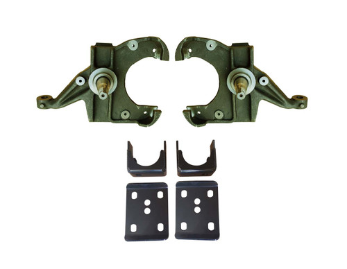 3/6 Drop Kit (Spindles) for Chevy C10 GMC C15 Trucks