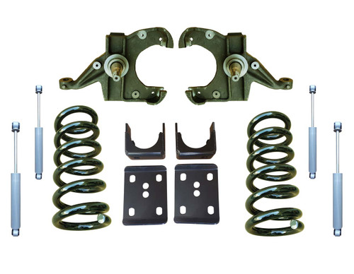 6in Lowering Kit and Drop Shocks for Chevy C10 GMC C15 Trucks