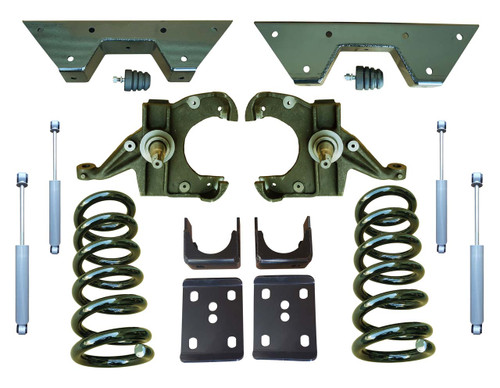 Complete 6in Drop Spindle Lowering Kit for Chevy GMC C10 C15 Trucks