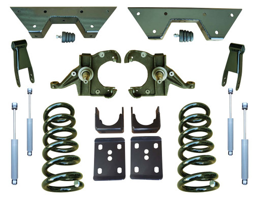 Complete 6/8 Drop Spindle Lowering Kit for Chevy C10 GMC C15
