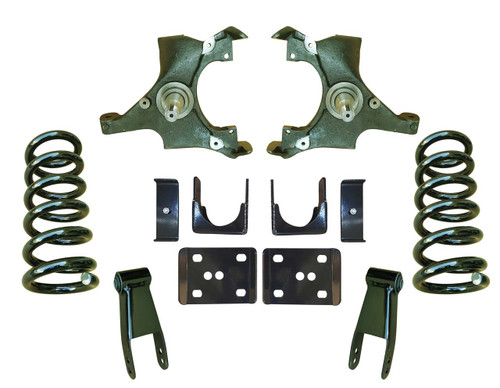 4/7 Drop Spindle Lowering Kit for 88-91 C1500 Std Cab