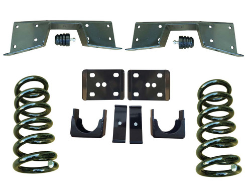 3/6 Lowering Kit and C-Notch for 01-06 GMC Sierra