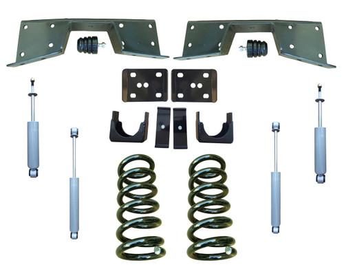 Complete 3/6 Lowering Kit for 99-00 Chevrolet Silverado