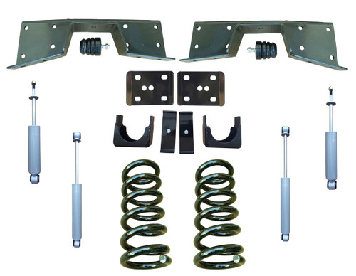 Complete 3/6 Lowering Kit for 01-06 Chevrolet Silverado
