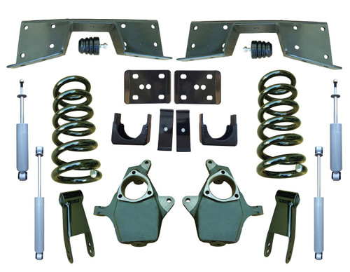 Complete 4/7 Lowering Kit for 01-06 GMC Sierra