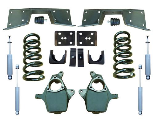 Complete 5/6 Lowering Kit for 99-00 GMC Sierra