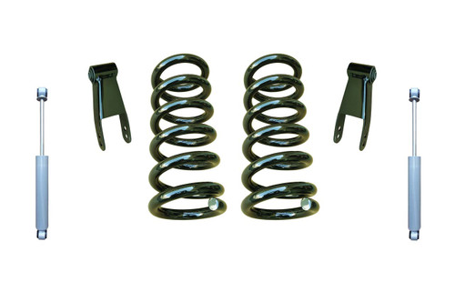 "07-13 Chevrolet Silverado 2"" Coil Spring Drop Kit with Shocks"