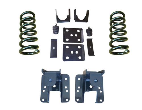 07-13 GMC Sierra 3/5 to 3/6 Adjustable Drop Kit