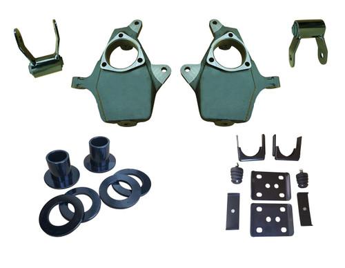 """07-13 Chevrolet Silverado 3 - 4""""/6"""" Adjustable Drop Kit"""