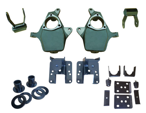 "07-13 Silverado / Sierra Fully Adjustable 3""-4"" /  5""-6""  Drop Kit"