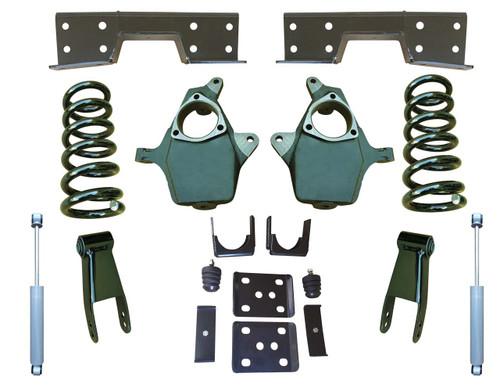 """Complete 5""""/8-9"""" Lowering Kit for 07-13 GMC Sierra 1500"""