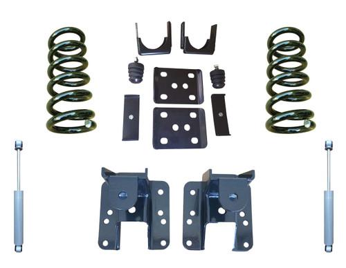 2014+ GMC Sierra 3/5 to 3/6 Adjustable Drop Kit with Shocks