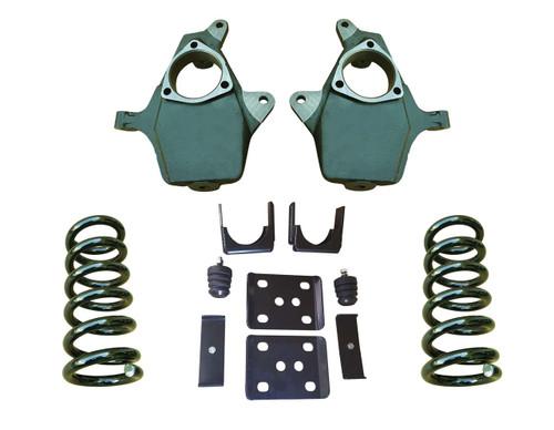 """2014+ GMC Sierra 4""""/7"""" Drop Kit"""