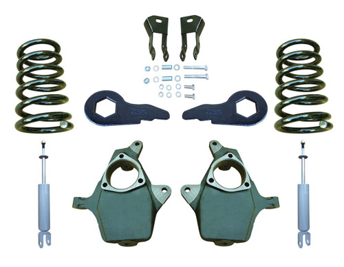 "00-06 Chevrolet / GMC SUV Models 4"" Drop Kit with Shocks, Extenders"