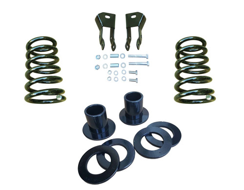 """07-14 Chevrolet / GMC SUV Models 1-2""""/4"""" Drop Kit with Extenders"""