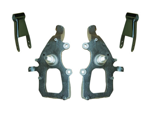 """04-08 Ford F150 2"""" / 2 - 3"""" Drop Spindle Lowering Kit"""
