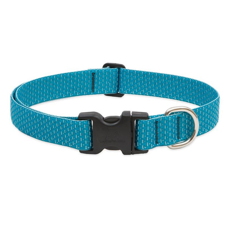 Adjustable Tropical Sea Recycled Fibre Dog Collar