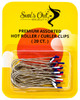 Premium Replacement Assorted Hot Roller Clips - Curler Clips - Regular Set (20 Count) - Fits Most Small to Medium Size Rollers - Curlers