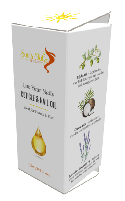Luv Your Nails Cuticle & Nail Oil  (0.5 fl oz)