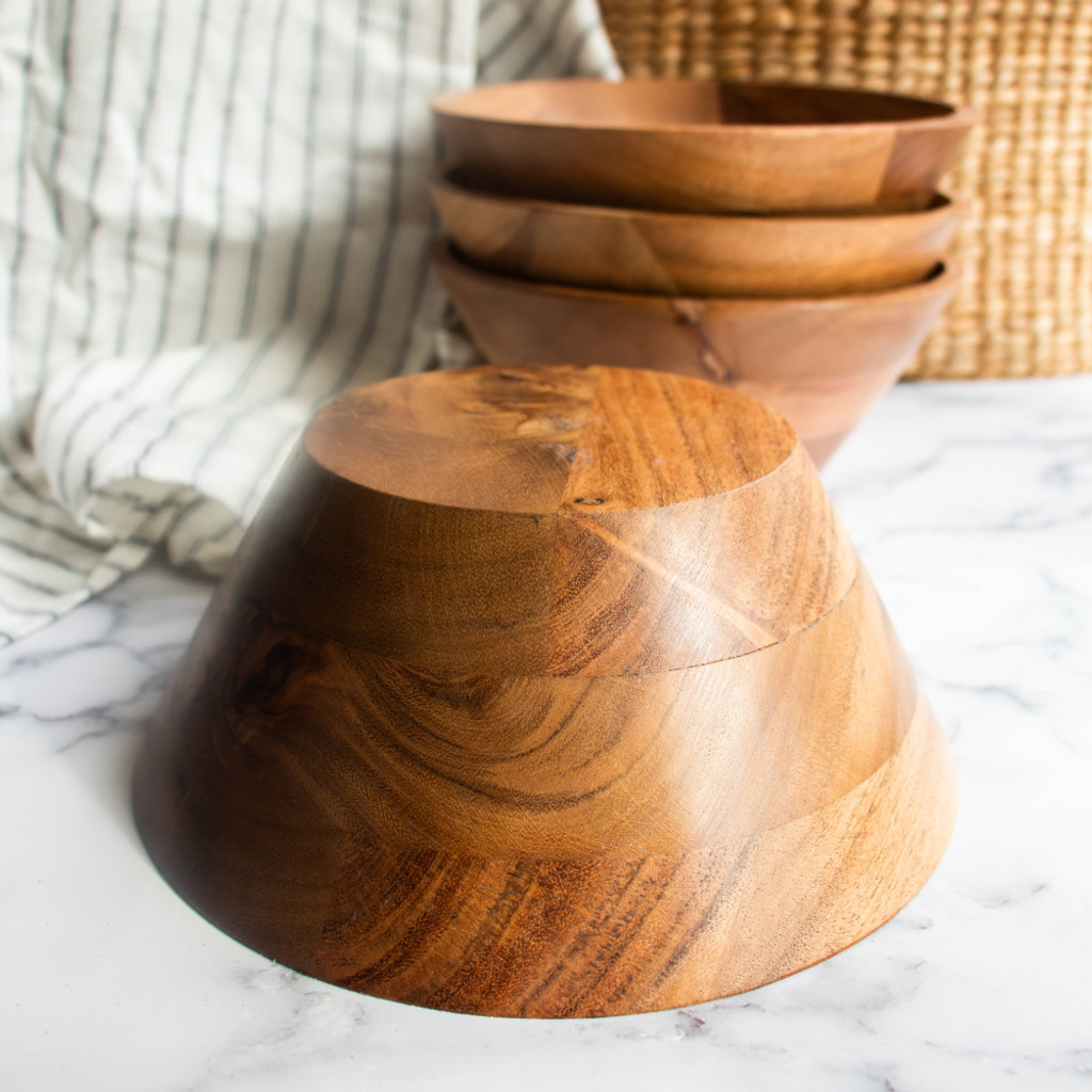 Wooden Proofing Bowl