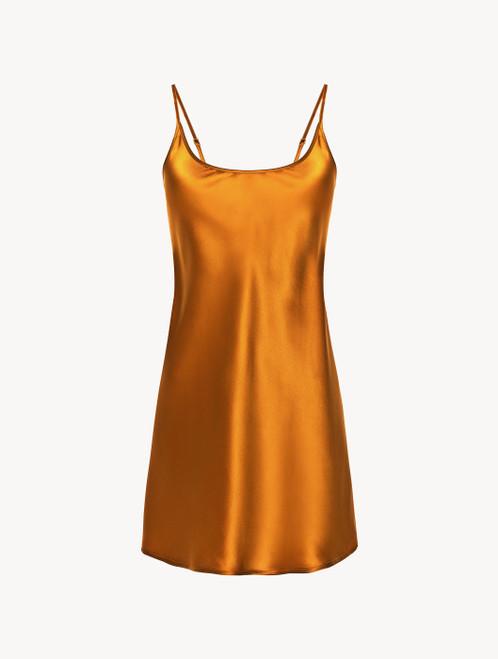 Topaz yellow silk slip