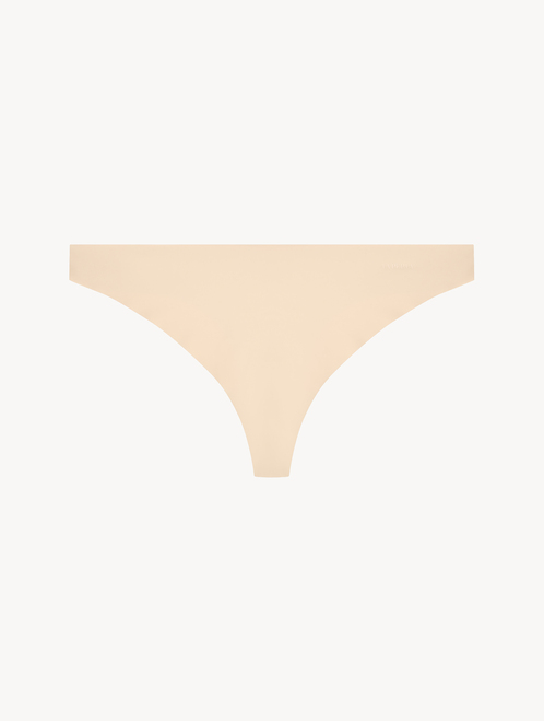 Latte-coloured thong