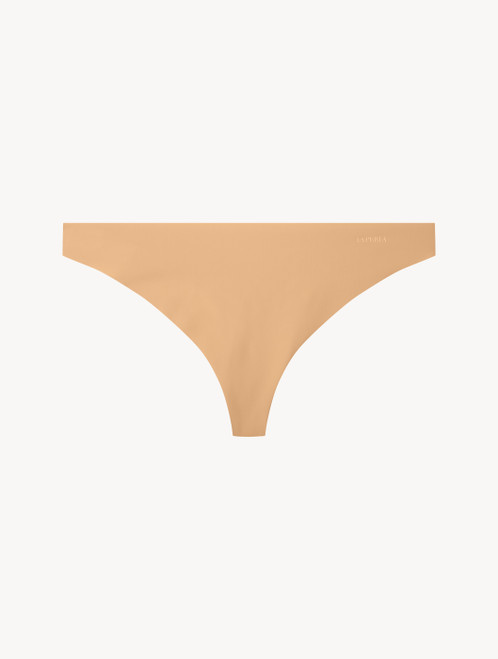 Amaretto-coloured thong
