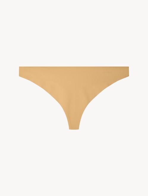 Hazel-coloured thong